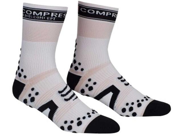 Compressport Racing V2 Bike Cykelstrømper hvid | Socks
